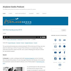 Airplane Geeks Podcast - Aviation Podcast