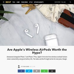 Apple AirPods New Wireless Earbuds Review 2017