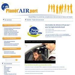 Planèt'AIRport » Mobilité / Trajet domicile-travail
