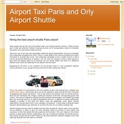 Orly airport transfer service in Paris