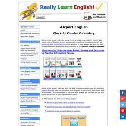 Airport Questions and Answers in English