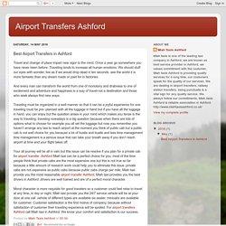 Airport Transfers Ashford: Best Airport Transfers in Ashford
