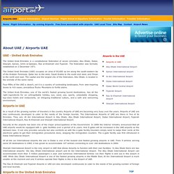 Airports in the United Arab Emirates