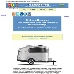 Airstream Basecamp small travel trailer review - Roaming Times