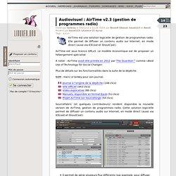 AirTime v2.3 (gestion de programmes radio)