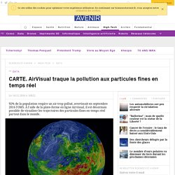 AirVisual traque la pollution en temps réel - 14/12/16