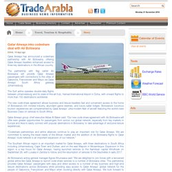 Qatar Airways inks codeshare deal with Air Botswana