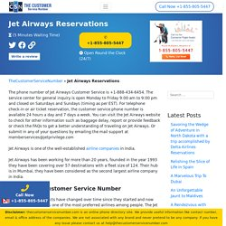 jet airways reservations . Now - Make Big Savings on Flights