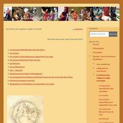 Aisling-1198, les blasons des seigneurs normands, XIIe s.