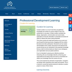 Curation for Learning