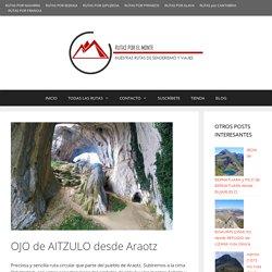 OJO de AITZULO desde Araotz - Rutas por el monte