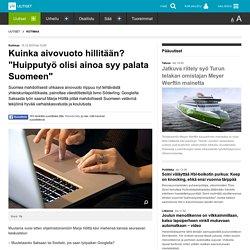 """Kuinka aivovuoto hillitään? """"Huipputyö olisi ainoa syy palata Suomeen"""""""