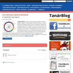 EU-s ajánlások digitális iskoláknak