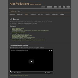 Ajar Productions: in5