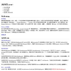 AJAX 是什麼?