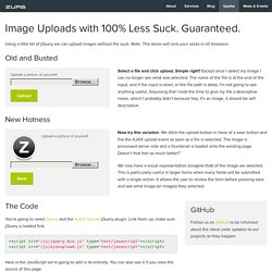 Ajax Upload - ZURB Playground - ZURB.com