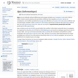 Ajax (informatique)