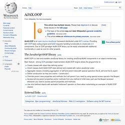 AJAX.OOP