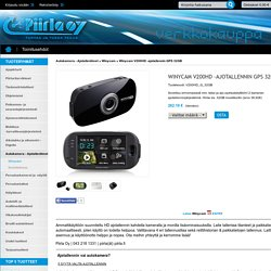 Winycam V200HD -ajotallennin GPS 32GB