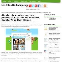 Ajouter des bulles sur des photos et création de mini BD, Create Your Own Comic