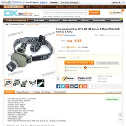 Focus-Adjustable Cree Q3 270-Lumen 3-Mode White LED Headlamp (3 x AAA