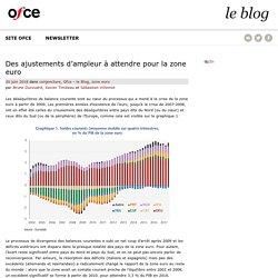 Des ajustements d'ampleur à attendre pour la zone euro