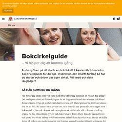 Bokcirkelguide - Akademibokhandeln