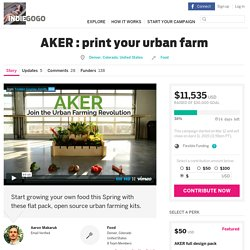 AKER : print your urban farm