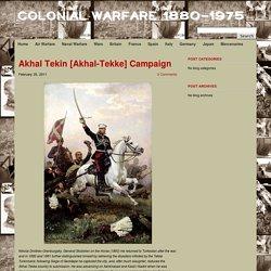 Akhal Tekin [Akhal-Tekke] Campaign