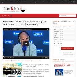 """Akhenaton d'IAM : """" La France a peur de l'Islam ! """" [ VIDÉO #Voile ]"""