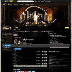 Akrea sur MySpace Music - Ecoute gratuite de MP3, Photos et clips vidéos