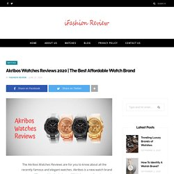 The Best Affordable Watch Brand