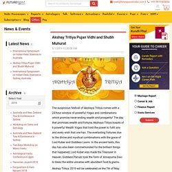 Akshaya Tritiya Date and Time