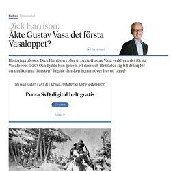 Åkte Gustav Vasa det första Vasaloppet?