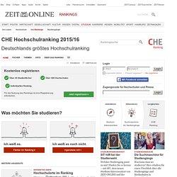 Das aktuelle CHE Hochschulranking auf ZEIT ONLINE