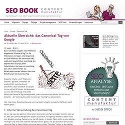 Übersicht: das Canonical-Tag von Google