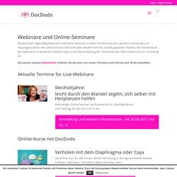 Aktuelle Termine für Webinare und Live-Online-Seminare