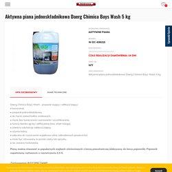 Aktywna piana jednoskładnikowa Daerg Chimica Bays Wash 5 kg - sklep tiptopol.pl