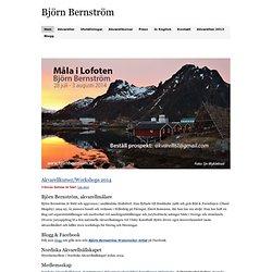Björn Bernström - akvarellmålare, akvarell, akvarellkurs, konstnär, watercolour,