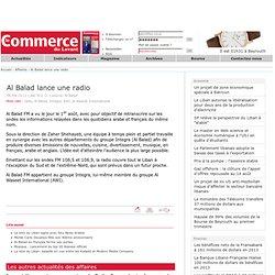Al Balad lance une radio
