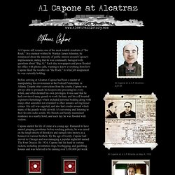 The Life and Crime of America's Best Known Gangster, Al Capone