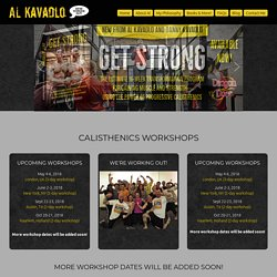 Al Kavadlo – We're Working Out!