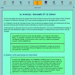 Al Waraqa, Mohamed et le Coran