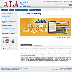 ALA Online Learning