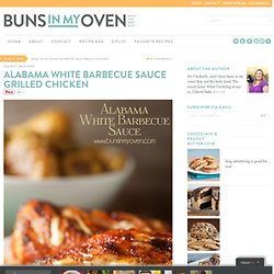 Alabama White Barbecue Sauce Grilled Chicken