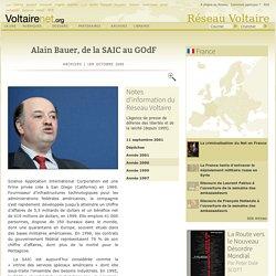 AlainBauer SAIC & Grand Orient deFr
