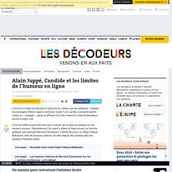 Alain Juppé, Candide et les limites de l'humour en ligne