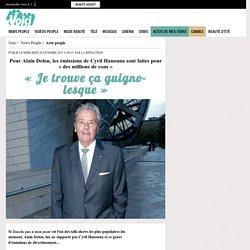 Pour Alain Delon, les émissions de Cyril Hanouna sont faites pour «des millions de cons»