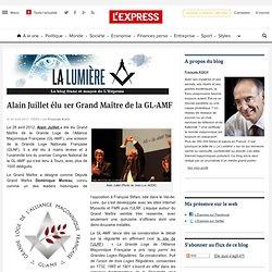 Franc-maçon élu en 2012 Grand Maître à la GL-AMF