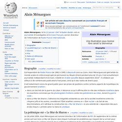 Alain Ménargues